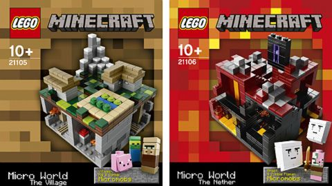 New LEGO Minecraft Sets Available Now