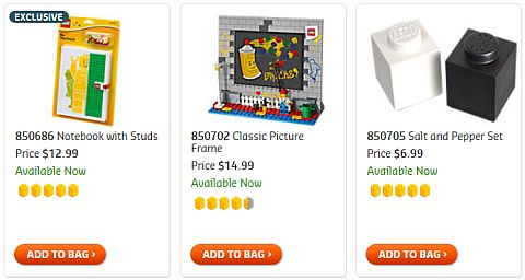 Shop For LEGO Gear & Gifts