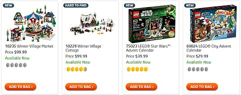 Shop for LEGO Christmas Sets
