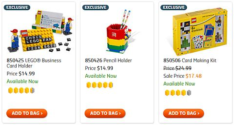 Shop for LEGO Gear