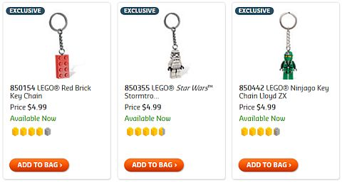Shop for LEGO Keychains