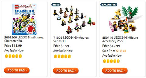 Shop for LEGO Minifigures Series