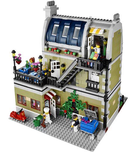 #10243 LEGO Modular Parisian Restaurant Back