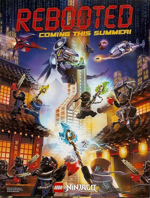 2014 LEGO Ninjago Poster