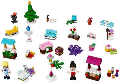 #41016 LEGO Friends Advent Calendar Details