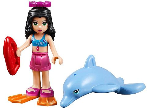 #41028 LEGO Friends Emma with Dolphin