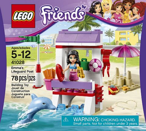 #41028 LEGO Friends Emma's Life Guard Post