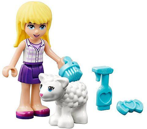 #41029 LEGO Friends Stephanie with Lamb