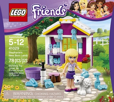 #41029 LEGO Friends Stephanie's New Born Lamb