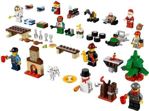 #60024 LEGO City Advent Calendar Details