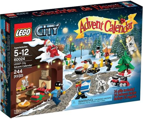 #60024 LEGO City Advent Calendar