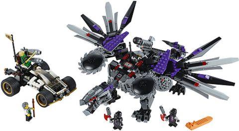 #70725 LEGO Ninjago Nindroid MechDragon Details