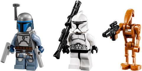 75015 LEGO Star Wars Corporate Alliance Tank Droid Minifigures
