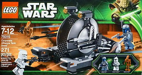 #75015 LEGO Star Wars Corporate Alliance Tank Droid Review