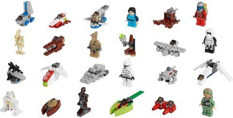 #75023 LEGO Star Wars Advent Calendar Details