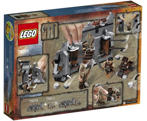 #79011 LEGO The Hobbit Set Details