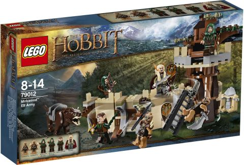 #79012 LEGO The Hobbit Desolation of Smaug Set