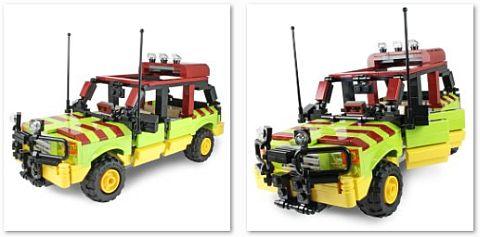 Custom LEGO JP Tour Vehicle Details by Ichiban Toys