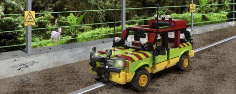 Custom LEGO JP Tour Vehicle by Ichiban Toys
