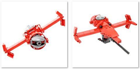 Custom LEGO Swordfish Details by Ichiban Toys