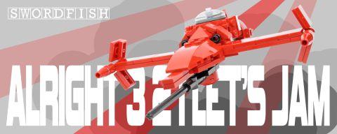 Custom LEGO Swordfish by Ichiban Toys