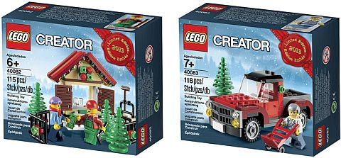 Exclusive LEGO Holiday Sets