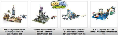 KRE-O CityVIlle Invasion Sets