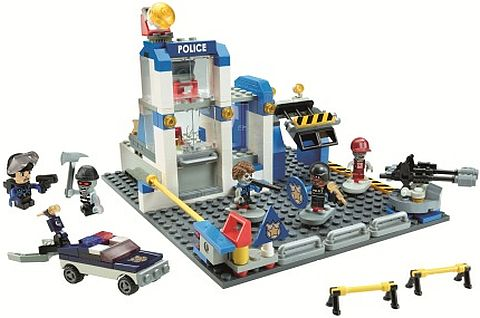 KRE-O CityVille Invasion Police Station Zombie Defense