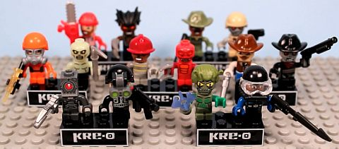 KRE-O Micro Kreon Figures