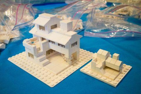 LEGO Architecture Studio Tom Alphin's Project Challenge #2