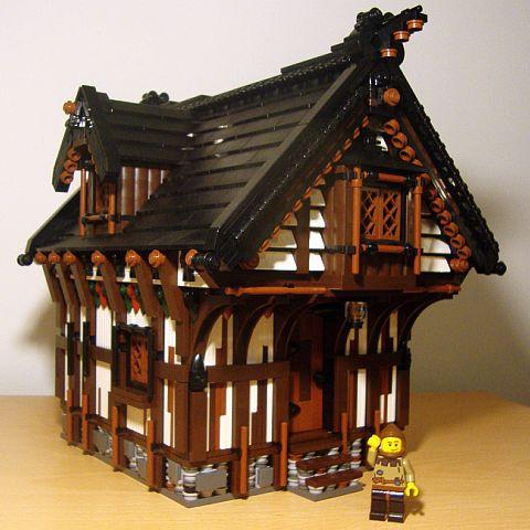 LEGO Building by Derfel Cadarn
