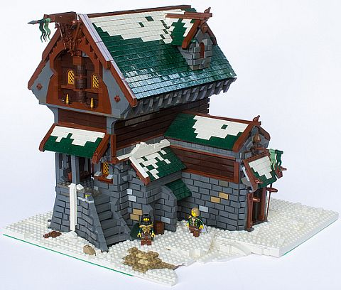 LEGO Building by Moriartus