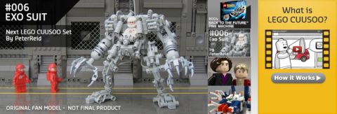 LEGO CUUSOO Website