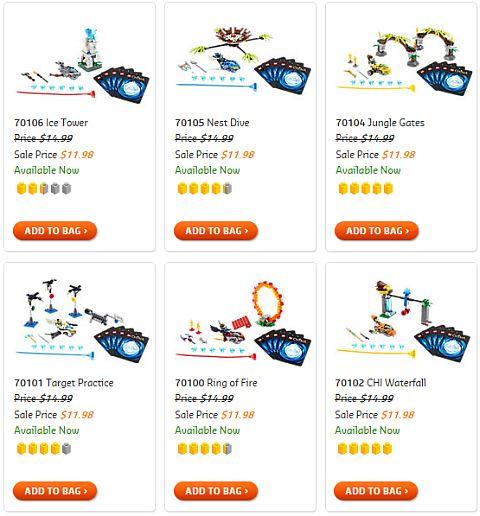 LEGO Chima Speedorz Sets on Sale