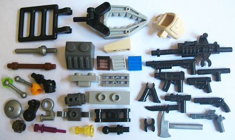 LEGO Compatible Interesting KRE-O Elements