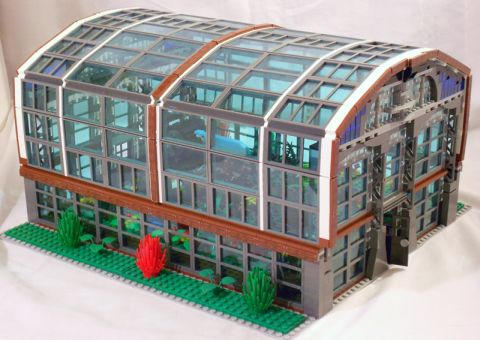 LEGO Greenhouse Exterior by William