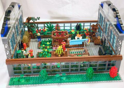 LEGO Greenhouse Interior by William