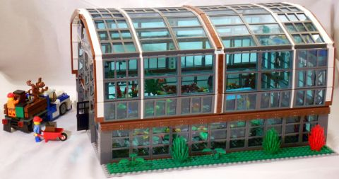 LEGO Greenhouse by William