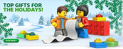 LEGO Holiday Shopping