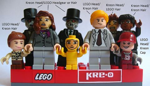 LEGO & KRE-O Minifigure Combinations