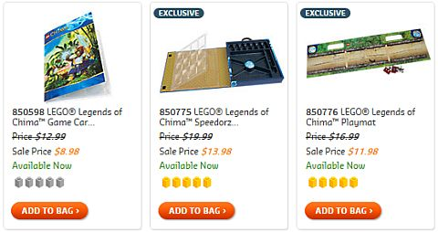 LEGO Legends of Chima Accessories on Sale