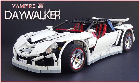 LEGO Supercar Charity Auction Details