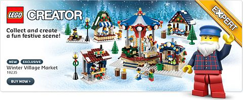 LEGO Winter Village Holiday Set