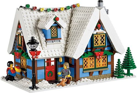#10229 LEGO WInter Village Cottage Review Details