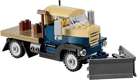 #10229 LEGO Winter Village Cottage Snowplow