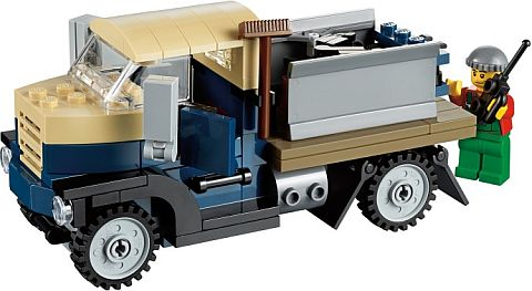 #10229 LEGO Winter Village Cottage Truck