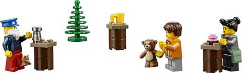 #10235 LEGO Winter Village Market Accessories