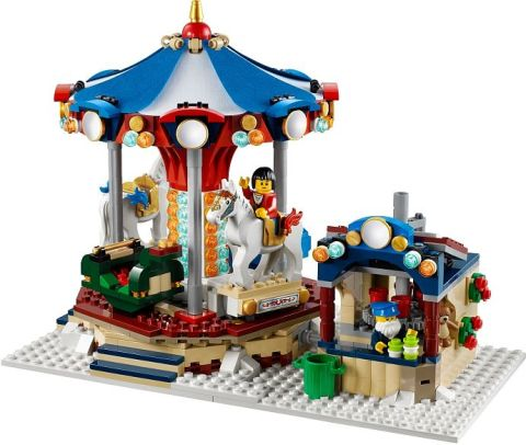#10235 LEGO Winter Village Market Carousel