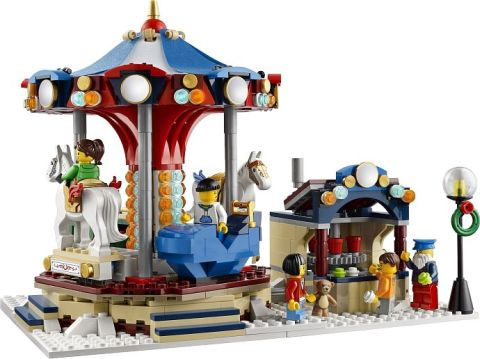 #10235 LEGO Winter Village Market Details