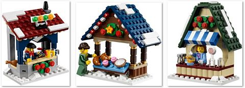 #10235 LEGO Winter Village Market Stalls